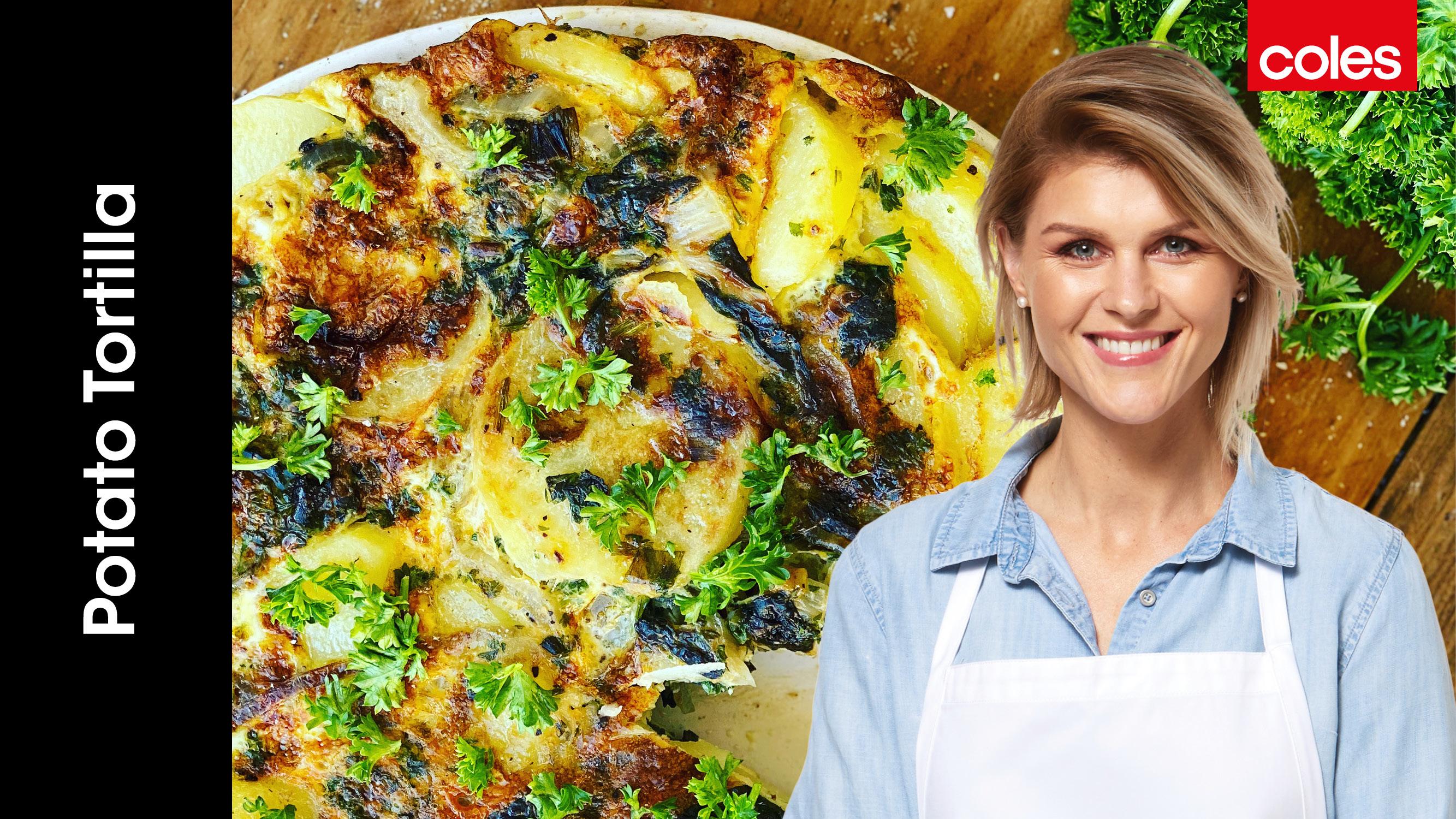 Courtney Roulston Potato Tortilla Cooking Video