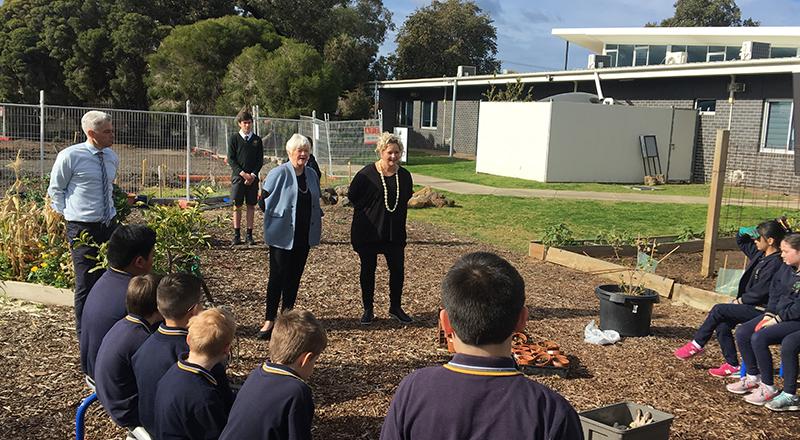 100 Schools Receive Playground To Plate Grants Kitchen Garden